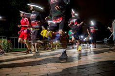 Night Run 2014 in Köln - Laufen mit Headlights. That's positivenergy!