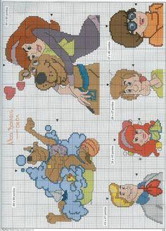 Gallery.ru / Фото #7 - Marileny Ponto Cruz 10 - tymannost Cross Stitch Bookmarks, Cross Stitch Baby, Cross Stitch Alphabet, Cross Stitch Kits, Counted Cross Stitch Patterns, Cross Stitch Designs, Blackwork Embroidery, Cross Stitch Embroidery, Embroidery Patterns