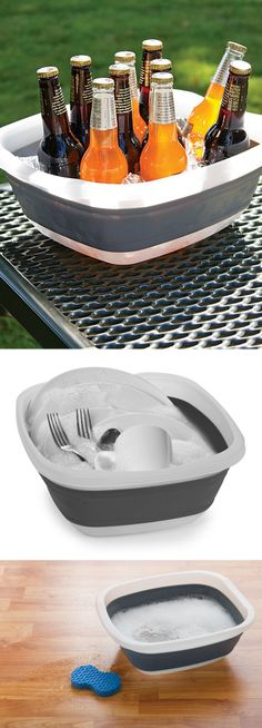 Collapsible Tub for Parties, Camping, Travel, and more!