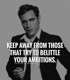 Be careful not to let yourself be around those who don't believe in your dreams or vision and only know how to put you down.  Instead be around those who help enlarge your vision and push you toward it! ---------------------------------------------- Use #businessmindset101 in your motivation success and business posts or if you repost.  Tag your friends.  by businessmindset101