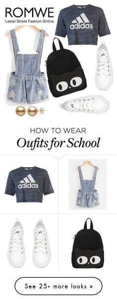 """""""Romwe 208"""" by northern-queen on Polyvore featuring adidas"""