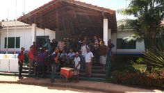 Uruará: Agricultores do km 140 Norte tomam a prefeitura em protesto por melhores estradas. Leia no blog http://joabe-reis.blogspot.com.br/2014/08/agricultores-do-km-140-norte-tomam.html