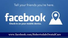 Don't forget to Check In at our office on Facebook! Ask our staff about any specials we have when you do :) We appreciate your business. #RobertsdaleDentalCare #dentists #BaldwinCounty - http://ift.tt/1HQJd81