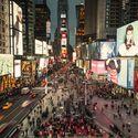 Times Square Celebrates Grand Opening of Snøhetta-Designed Transformation © Michael Grimm