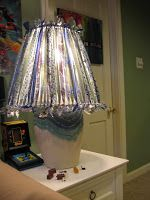 What a charming little project! I had so much fun working on this lampshade re-do and I hope you try it, too! The lampshade in the basem...