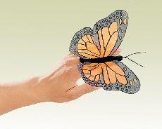 Mini Monarch Butterfly Finger Puppet   5.99