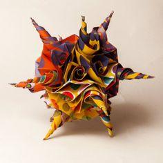 origami kusudama 4 Fernando Rosa