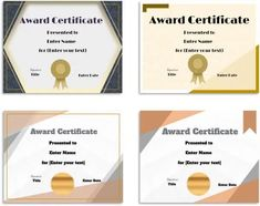 Free Editable Certificate Template   Customize Online & Print at Home Certificate Maker, Certificate Design Template, Text Signature, Reading Quotes, Text You, Online Printing, Place Card Holders, Names, Face Art