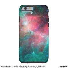 Beautiful Red Green Nebula Tough iPhone 6 Case   #nebula #red #green #space #science #fiction #cosmos #hipster #stars #cluster #cosmic #astronomy #sky #dark #star #universe #starry #galaxy #night #rays #iphonecase #iphone