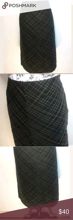 0f95808cf5089 J. Crew Black Gold A-Line Skirt Size 8 J Crew Women s 8