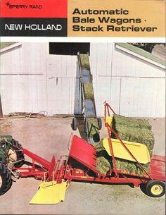 Antique Tractors, Vintage Tractors, Vintage Farm, New Holland Ford, New Holland Tractor, Tractor Machine, Toys For Boys, Boy Toys, New Holland Agriculture