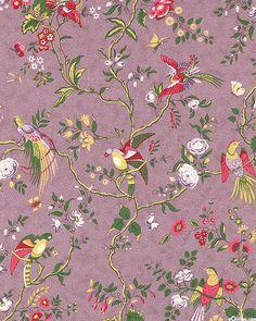 Beatrice - Birds in Paradise - Heather Purple