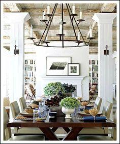 ceiling + light fixture LOVE