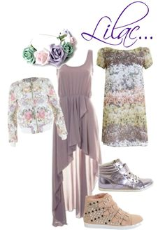 """LOVE LILAC"" by inlovewithfashion on Polyvore"