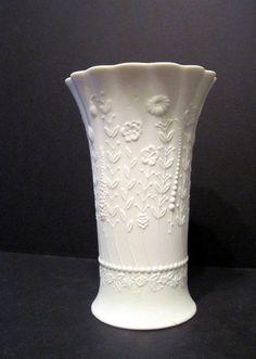 Kaiser Porcelain W-Germany White Porcelain Vase  http://stores.ebay.com/maxwellvintage?_rdc=1