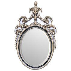 Adams Oval Mirror