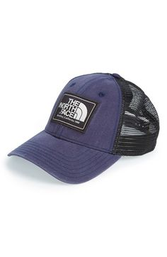 The North Face Men's 'Mudder' Trucker Hat - Blue