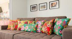 Nós ♥ Chita   Casa & Decoração no Westwing French Cottage Decor, Costura Diy, Bohemian Decor, Sweet Home, New Homes, Cushions, Colours, Throw Pillows, Interior Design