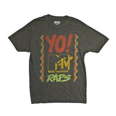 MTV Raps Tee Black, $19, now featured on Fab.