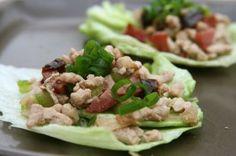 Recipe for chicken lettuce wraps