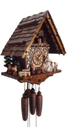 Snow White and the Seven Dwarfs Cuckoo Clock
