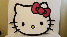 Hello kitty 4 ft foam character face