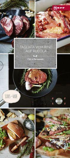 Ihr fragt euch, wie Fleisch innen saftig und außen knusprig gelingt? Wir haben die Antwort: Mit diesem Rezept für Tagliata mit Sous-vide.