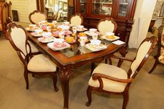 Fairmont Designs Dining Table w/6 Chairs - Colleen's Classic Consignment, Las Vegas - www.colleenconsign.com
