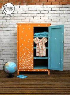 Beau Ford Spotted Wardrobe
