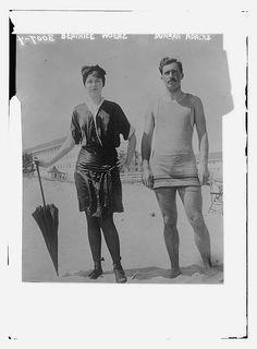 Beatrice Woerz and Dunbar Adams (LOC)