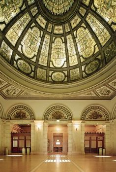 Chicago Cultural Center GAR Hall.  I am having my wedding reception here and nobody can stop me!