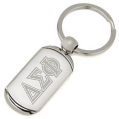 Campus Classics - Delta Sig Greek Letter Keychain: $6.95