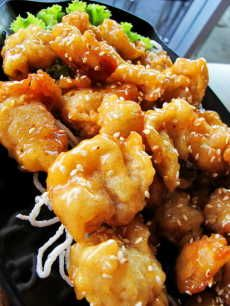 Resep Ayam Saus Lemon If you are not allergic to sesame seeds. I would make this for dinner. Chicken Menu, Easy Chicken Recipes, Raw Food Recipes, Seafood Recipes, Asian Recipes, Cooking Recipes, Healthy Recipes, Asian Foods, Lemon Recipes