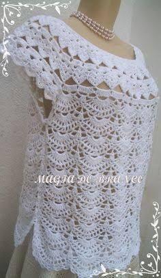Image result for blusas tejidas a crochet caladas