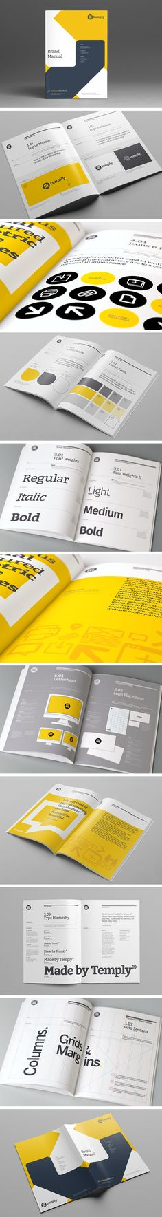 Brand Manual Template by Temp ly