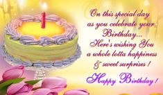 On This Special Day As You Celebrate Your Birthday – Happy Birthday happy birthday happy birthday wishes happy birthday quotes happy birthday images happy birthday pictures Birthday Greetings Images, Happy Birthday Status, Friend Birthday Quotes, Birthday Wishes For Friend, Birthday Poems, Happy Birthday Pictures, Birthday Wishes Quotes, Happy Birthday Sister, Happy Birthday Messages