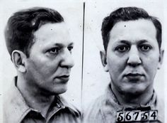 Louis Lepke's Sing Sing mugshot photo