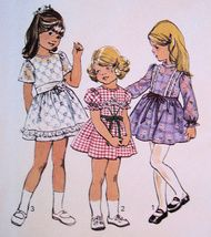 Darling Vintage Dress Pattern