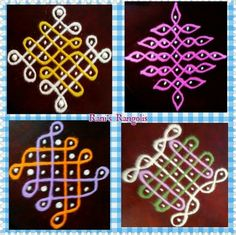 Rangoli Kolam Designs, Rangoli Designs With Dots, Rangoli Designs Images, Kolam Rangoli, Rangoli With Dots, Beautiful Rangoli Designs, Simple Rangoli, Muggulu Dots, Traditional Rangoli