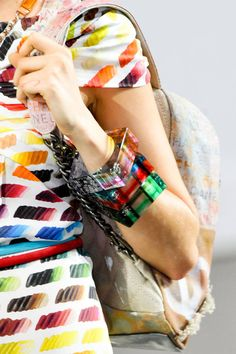 Spring 2014 Jewelry Trends - primary colors- Chanel