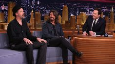 Watch Nirvana's Dave Grohl, Krist Novoselic on The Tonight Show Starring Jimmy Fallon