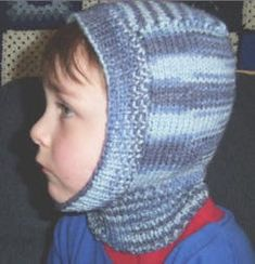 The Stash Project: Child's Winter Helmet Pattern Baby Knitting Patterns, Baby Hats Knitting, Knitting For Kids, Crochet For Kids, Free Knitting, Crochet Baby, Knit Crochet, Crochet Toys, Baby Patterns