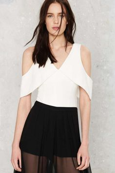 Stay Off the Cold Shoulder Bodysuit | Shop Clothes at Nasty Gal!