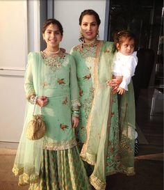 Desi Wedding Dresses, Asian Wedding Dress, Pakistani Wedding Outfits, Pakistani Dresses, Indian Dresses, Indian Outfits, Gharara Designs, Kurta Designs, Blouse Designs