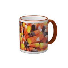 Love candy corn? Love autumn? Candy Corn Mug #foodies #candycorn
