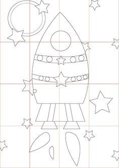Décor de fusée en carton, Comment faire - Loisirs créatifs