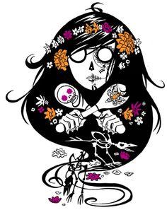 ghostgirl Dia de Muertos - coming Oct. 1  #ghostgirl #book #dayofthedead