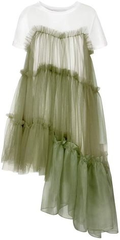 Browse Raven Jersey Tulle Organza Army Dress (XS) and more from IN. Fashion 2020, Look Fashion, Diy Fashion, Ideias Fashion, Fashion Dresses, Spring Fashion, Fashion Trends, Latest Fashion, Looks Party