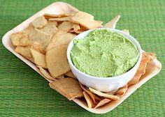 Hummus di spinaci e feta
