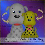 Cute Little Pup Template
